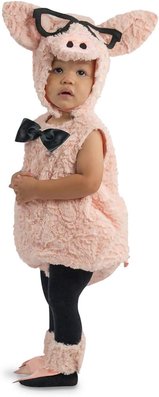 HorrorShop Hipster Piggy Toddler Costume 4 Jahre