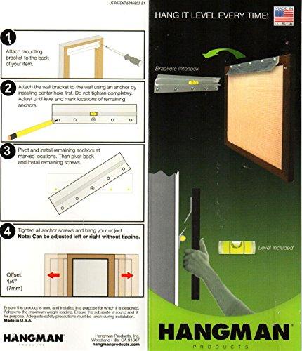 Spiegel en afbeelding ophangsysteem 1 meter 1000 mm hp-1 m