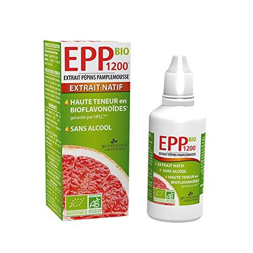 3 Chnes EPP1200 BIO grapefruitzaden extract 50 ml van Les 3 Chnes