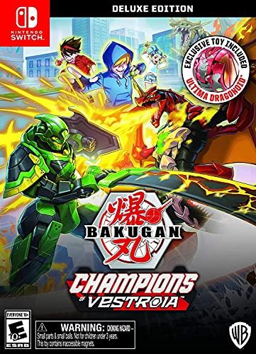 Bakugan: Champions of Vestroia Deluxe Edition - Nintendo Switch