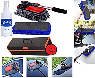 Auto Detailing Brush Set TEEPAO 6 Pcs Natural Boar Bristle Brush for Cleaning Engine/Wheel/Interior/Exterior/Emblems/Car Air Conditioner Car Motorcycle Stiff Cleaner Brush