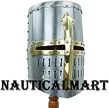NAUTICALMART 13th Century Great Helm 18 Gauge