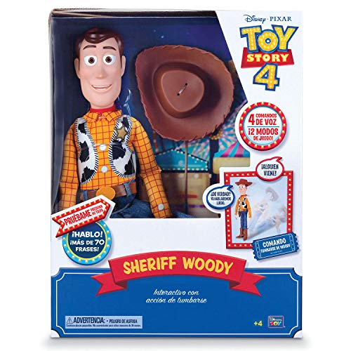Toy Story Figura Articulada Woody Super Interactivo 40 cm (BIZAK 61234431)