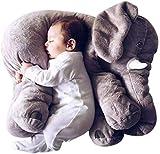 赤ちゃん象枕ぬいぐるみぬいぐるみ動物ぬいぐるみぬいぐるみ枕象クッション子供赤ちゃん幼児の贈り物 グレー