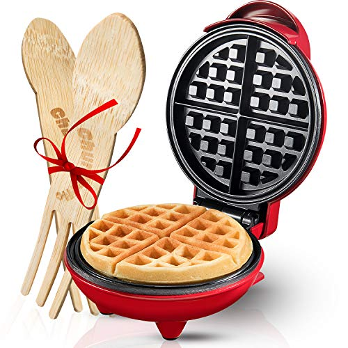 Burgess Brothers Mini Waffle Maker   Portable...