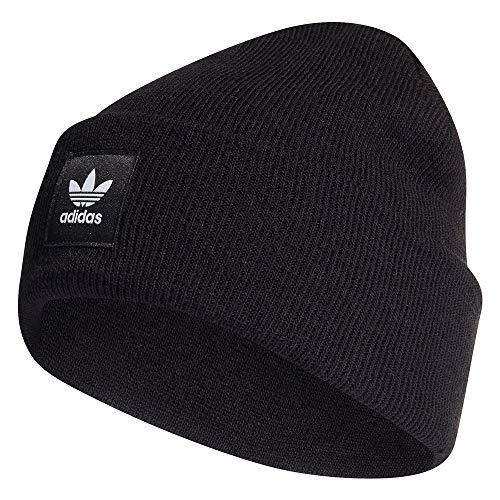adidas Adicolor Cuff Knit, Backpacks Uomo, Black, OSFM