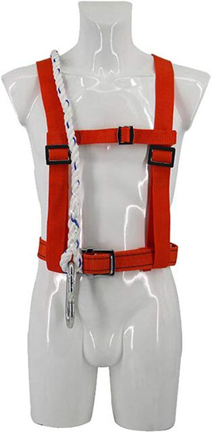 ZBHW Harness and Work Position Belt for Maintenance Works Safety Predection Full Harness high Altitude Belt Cushioning Fall Predection seat Belt