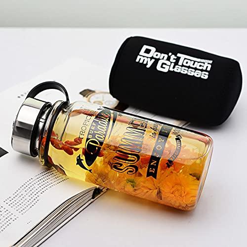 Botella Agua Deporte,Para Cantimploras para Gimnasio, Bicicleta, Colegio, Oficina, Viajes -negro_1000ml