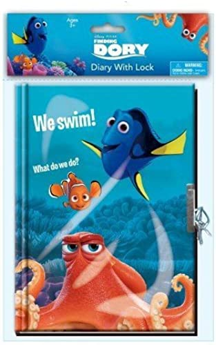 Disney Finding Dory Large Diary with Lock (45 Sheets) by Disney