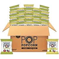 40-Pack SkinnyPop Popped Popcorn Variety (Original & White Cheddar)