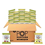 SkinnyPop Popped Popcorn Variety (Original & White Cheddar), Individual Bags, Healthy Snacks, 0.5oz (Pack of 40)