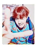 Fanstown KPOP 韓流 BTS 防弾少年団 マウスパッド「LOVE YOURSELF 承 Her」アルバム ステッチ縁 滑り止めゴム底 44 x 35 cm