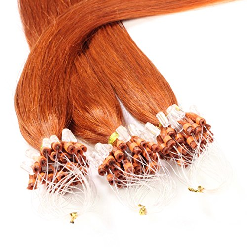 Hair2Heart 50 x 0.5g Extensiones micro ring pelo natural