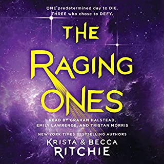 The Raging Ones                   By:                                                                                                                                 Krista Ritchie,                                                                                        Becca Ritchie                               Narrated by:                                                                                                                                 Emily Lawrence,                                                                                        Graham Halstead,                                                                                        Tristan Morris                      Length: 14 hrs and 2 mins     2 ratings     Overall 4.0
