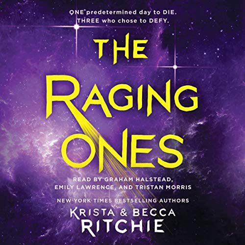 The Raging Ones audiobook cover art