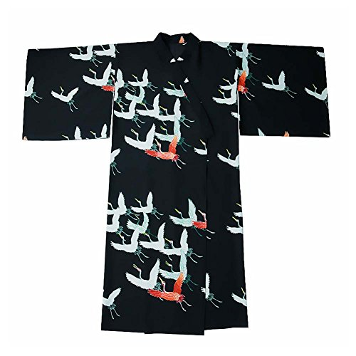 Fancy Pumpkin Abito da Kimono in Stile Giapponese con vestibilità Classica, Cinturino Rosso
