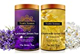 Exotic Aromas Organic Lavender & Chamomile Green Tea, 100g, Pack of 2