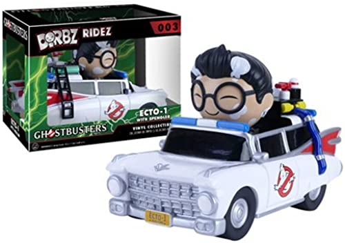 Ghostbusters Ecto-1 Dorbz Ridez with Egon Vinyl Figure by Ghostbusters