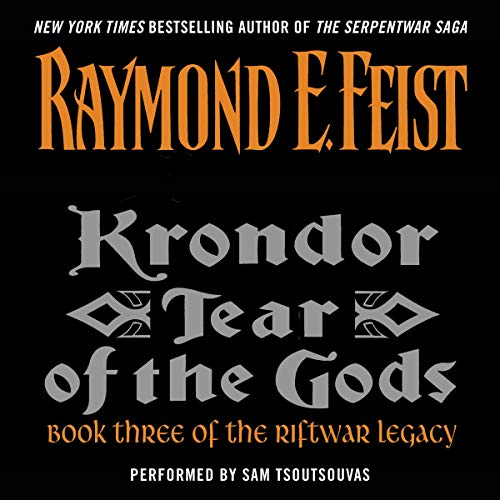 Krondor: Tear of the Gods audiobook cover art
