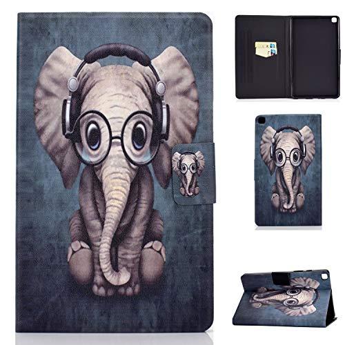 Lspcase Galaxy Tab A 8.0 Zoll 2019 Schutzhülle Flip Cover Brieftasche Case Magnetische Tasche Hülle mit Kartenschlitz für Samsung Galaxy Tab A 8.0