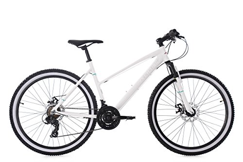 KS Cycling Mountainbike Damen 26'' Larrikin weiß Aluminiumrahmen RH48cm