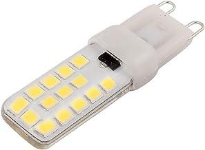 X-DREE AC 230V 4W G9 2835SMD LED Corn Light Bulb 28-LED Silicone Lamp Dimmable Neutral White (6e0a1122-a222-11e9-8d7c-4ced...