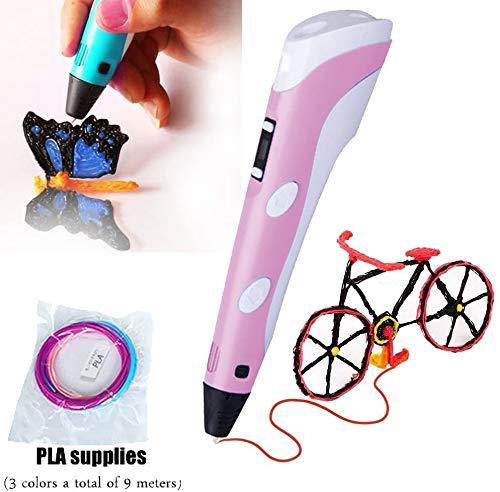 Polaroid Play 3D Pack of 20 x 5m bright color  PLA Filaments 1.75mm diameter