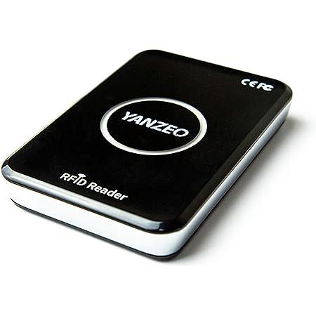 Yanzeo R15 SR2 メタルシェルUHF RFIDリーダーライター860-960mhz Complie標準のEPC C1G2 ISO 18000-6Cサポートキーボードエミュレーション出力サポート読み取り書き込みエイリアン9654のUHFタグ