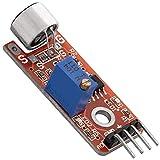 AZDelivery KY-037 Micrófono detección de sonido de alta sensibilidad módulo grande para Arduino con eBook incluido
