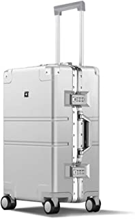 Luggage, PC Material Large Capacity Suitcase, Unisex, Silver Travel Equipment (Size : 20 inches)