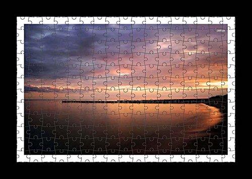 Puzzle stile (preconfigurati) Stampante muro di wavebreaker sagome in the Dusk Light by Lisa Loft