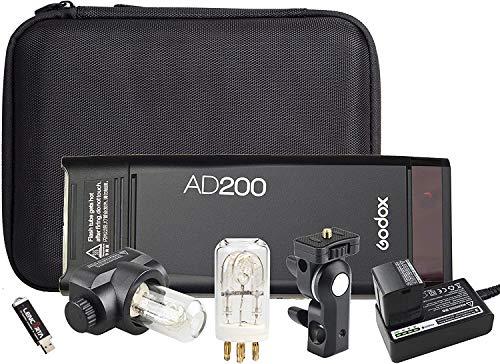 Godox AD600Pro TTL HSS Flash stroboscopique extérieur Godox 2.4G Système sans Fil X Flash stroboscopique Portable Vitesse de Recyclage Rapide Lampe à LED