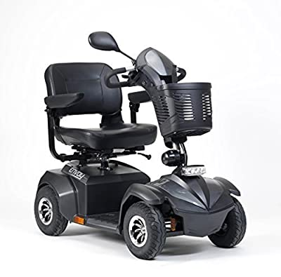 Envoy 4 4mph Long Range Mobility Scooter by VA Healthcare (Installed deliver and demonstration, Silver)