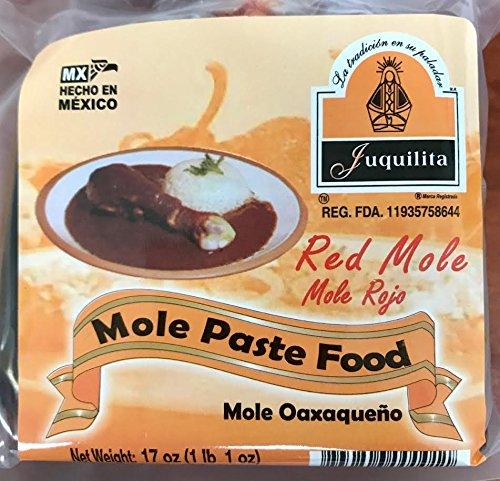 Juquilita Red Mole - Mole Rojo Oaxaqueno - 17 oz