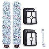 Accesorios para Bissell Crosswave cepillo de rodillo, Charminer filtro de repuesto para aspiradora Crosswave Bissell, rodillo de cepillo de limpieza compatible con Bissell 17132 y 2225N Series azul