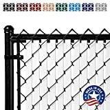 Tube Slats Privacy Inserts for Chain-Link Fence,...
