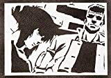 Ghost in the Shell Poster Major Motoko Kusanagi und Batou
