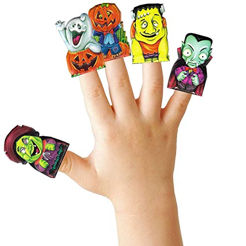 12 x Halloween Marionnettes De Doigts