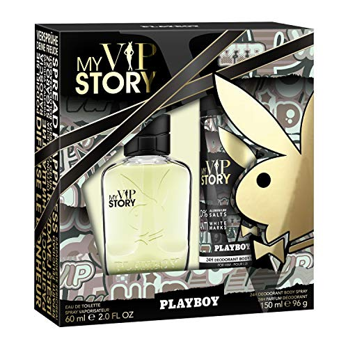 Playboy Playboy duftset my vip story eau de toilette 60 ml deospray 150 ml 210 ml