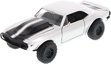 Jada Fast & Furious Roman's Chevy Camaro Off Road, Silver Toys 97169 - 1/24 Scale Diecast Model Toy Car, but NO Box