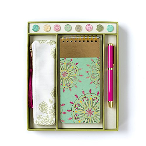 Mi mente de ojo de papel amor material de oficina organizador de escritorio Set con accesorios