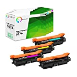 True Color Toner Compatible Replacement Toner Cartridge Replacement for HP CE400A  ( Black, Cyan, Yellow, Magenta , 4 pk )