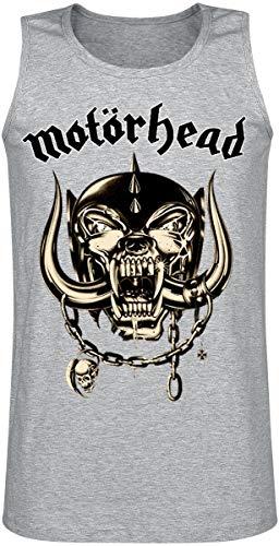 Motörhead Cream Warpig Männer Tank-Top grau meliert XL 97% Baumwolle, 3% Polyester Band-Merch, Bands