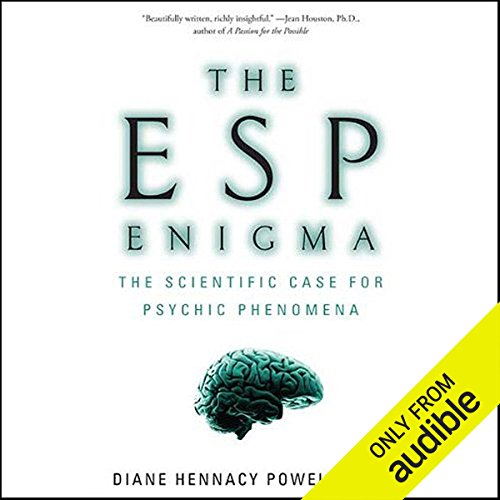 The ESP Enigma audiobook cover art