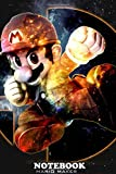 Notebook: Super Smash Bros , Journal for Writing, College Ruled Size 6' x 9', 110 Pages