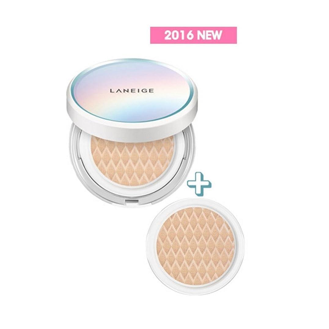 """篭注文親愛な"""" 2016 NEW """" LANEIGE BB Cushion [Pore Control] 15g + Refill 15g (#11 Porcelain)/ラネージュ BBクッション [ポアコントロール] 15g + リフィル 15g (#11 Porcelain)"""