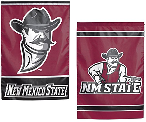 New Mexico State Aggies NCAA Garten Flagge 31,8x 45,7cm 2-seitige