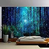 WERT Impresión de Bosque Natural Gran Tapiz Hippie Colgante de Pared decoración del hogar Bohemio tapices Tela de Fondo A4 130x150cm