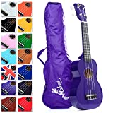Best Purple Soprano Ukulele with Bag, plus 150+ downloadable pages of Uke Songs