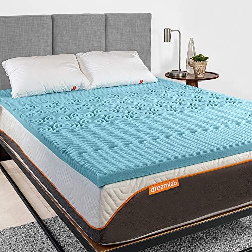 Dreamlab Topper 5cm Memory Foam 5 Zonas (Gel, Queen)